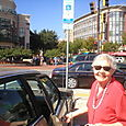 Gaby in downtown Bethesda, Maryland