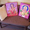 Ganesh & Durga