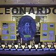 Leonardo at night