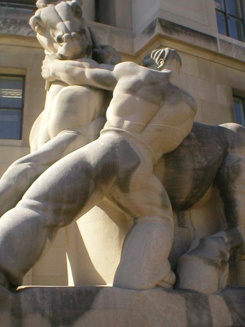 DC's hunkiest statue